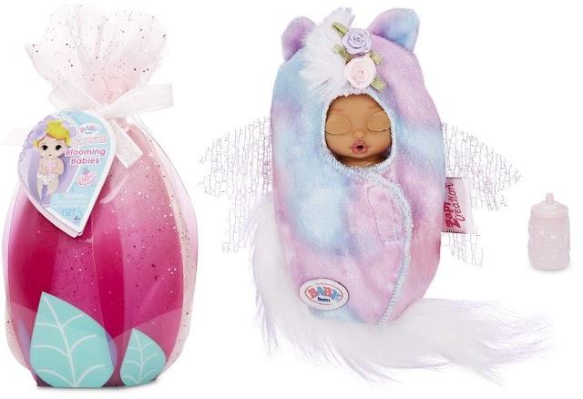 Цветущие Baby Born Surprise Blooming Babies: новая 4 серия очаровательных пупсиков с сюрпризами