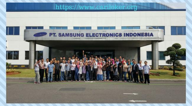 Loker Cikarang PT.Samsung Electronics Indonesia Terbaru 2018