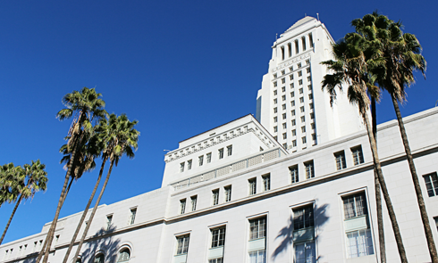 Los Angeles City Hall Observation Deck