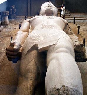 Museo; Menfis; Mit Rahina; Egipto; Egypt; Egypte