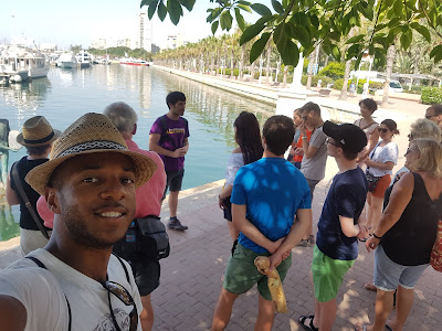 Walking tour with Carlos starting at the harbor