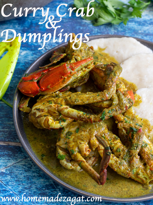 Recipe for Tobago curry crab and dumpling