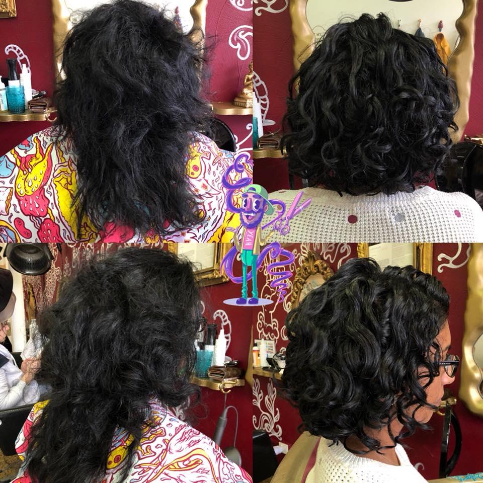 curly hair australia