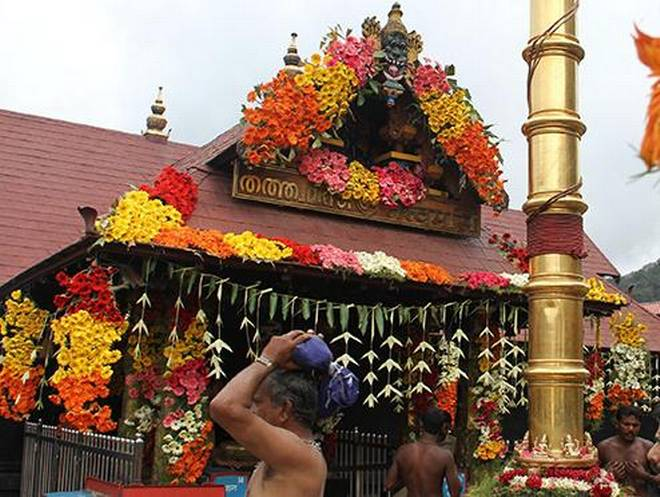 Sabarimala Nada will be opened today for Kannimasa Pujas , www.thekeralatimes.com