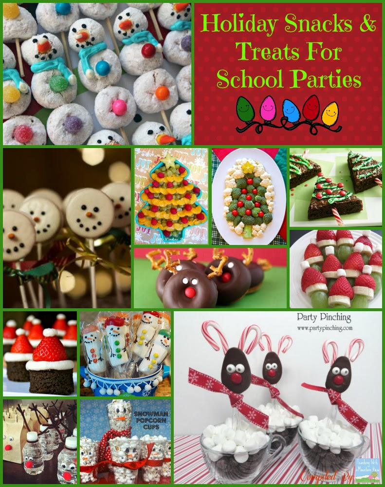 Christmas Treats For School Parties.Christmas Treats For School Parties