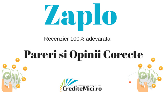 Despre imprumutul rapid online de la Zaplo.ro