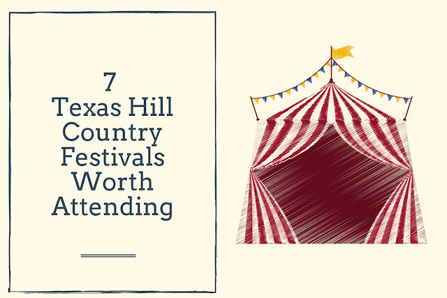 7 Great Texas Hill Country Festivals blog cover image
