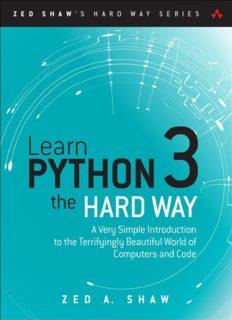 learn-python-the-hard-way-pdf