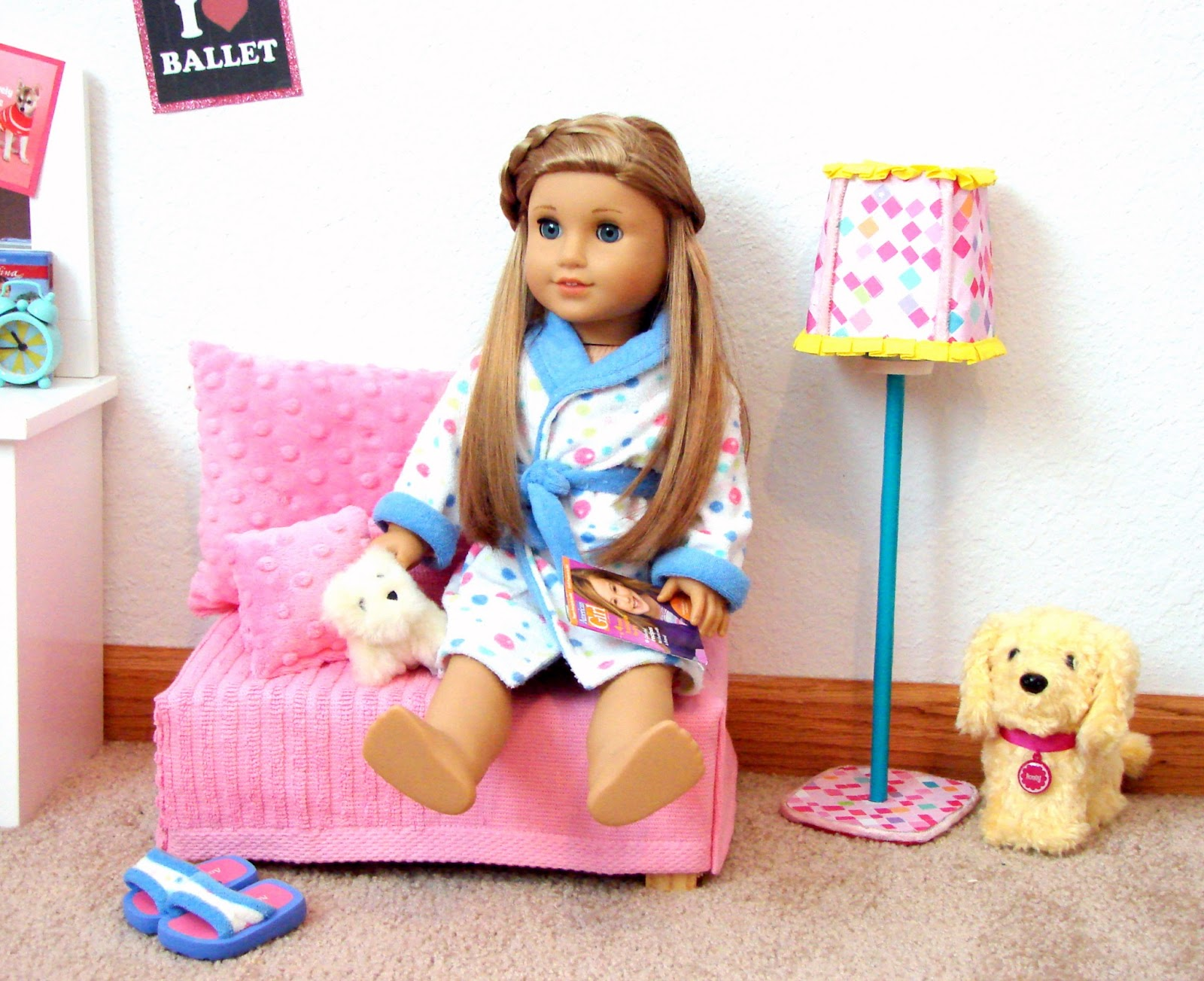 american girl craft ideas for dolls american doll play doll craft make a standing lamp 7378
