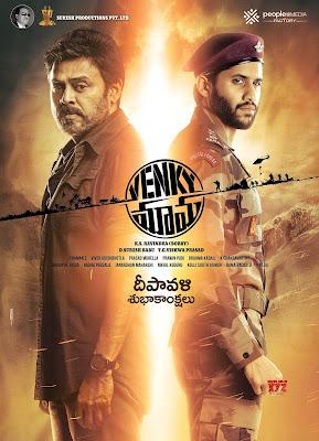 Venky Mama (2019) Dual Audio [Hindi – Telugu] 720p UNCUT HDRip ESub x264 800Mb