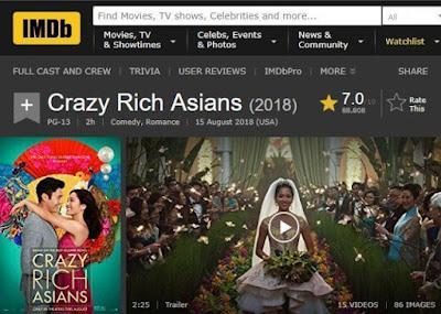Crazy Rich Asians, Horang Kaya mah Bebas!