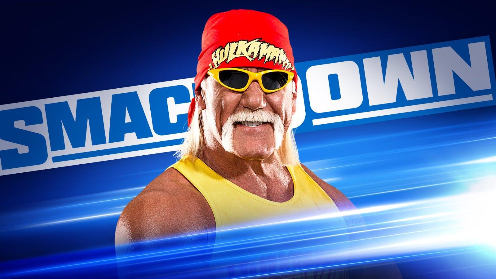 Hulk Hogan realizará seu retorno à WWE no SmackDown desta noite