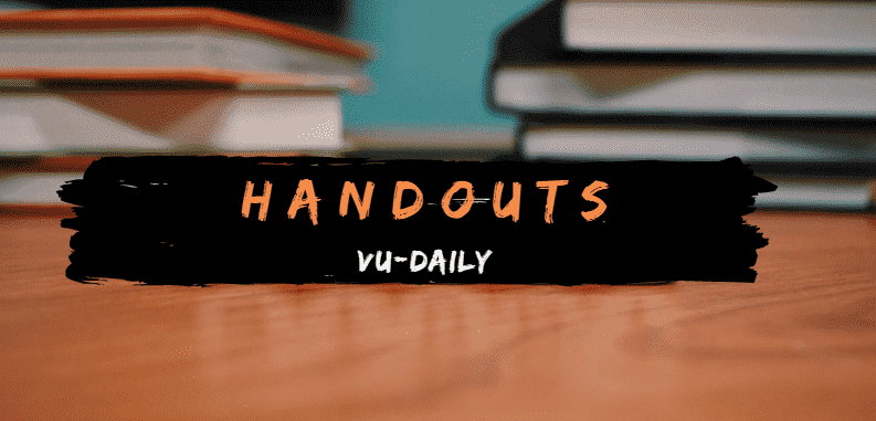 VU-Handouts-PDF-Download