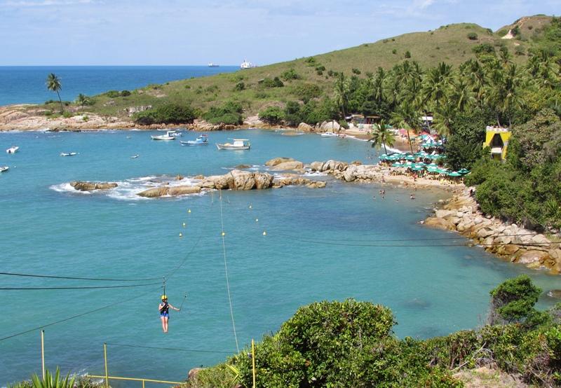 Tirolesa de Calhetas, Cabo de Santo Agostinho - Pernambuco