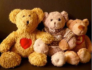 photo of teddy bears for elementary students to draw from
