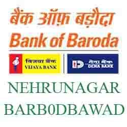 New IFSC Code Dena Bank of Baroda NEHRUNAGAR,AMBAWADI
