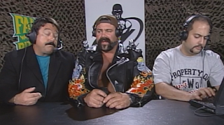 WCW Fall Brawl 1998 Review: Rick Steiner talks to Lee Marshall