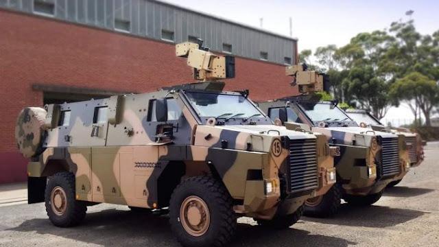 Australia Beri Hibah 15 Kendaraan Lapis Baja Bushmaster Untuk Indonesia