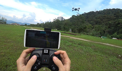 Drone Hubsan H216A X4 Drone GPS Murah Dengan Telematry Lengkap