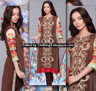 Luxury Eid Lawn Collection 2015 for Girls