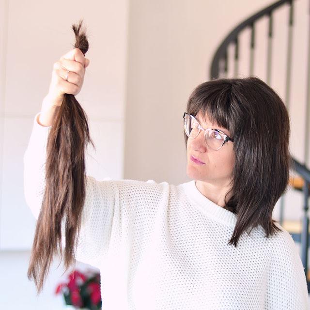 Donar mi pelo Mechones Solidarios pelucas para el cáncer