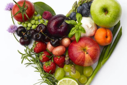 Variety of Healthy Foods for the Heart