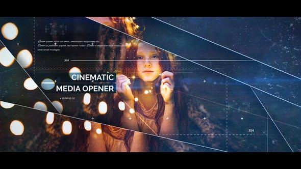 Videohive - Cinematic Media Opener - 22094183