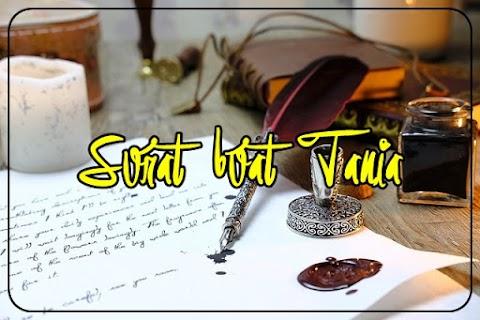 Surat buat Tania