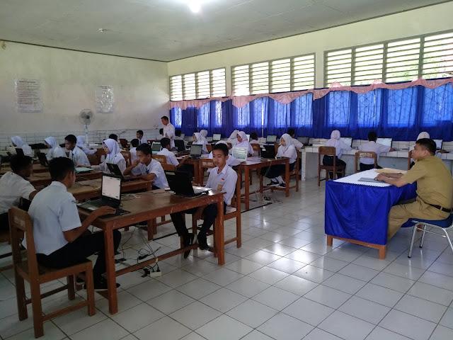 100 Persen SMP/MTs di Bone Laksanakan UNBK