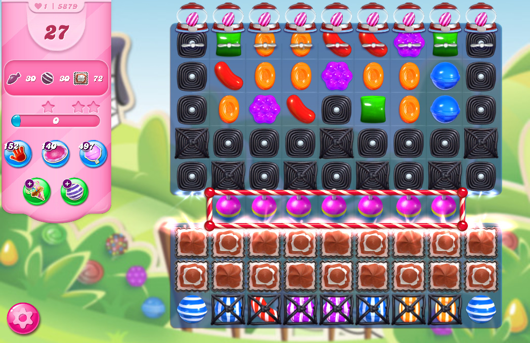 Candy Crush Saga level 5879