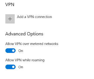 Menu vpn windows 10