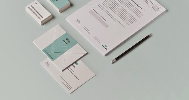 Stationery Branding PSD Mock Up