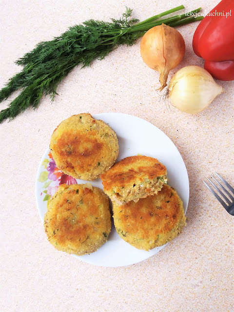 Kotlety ziemniaczane z mięsem mielonym / Potato Patties with Ground Meat