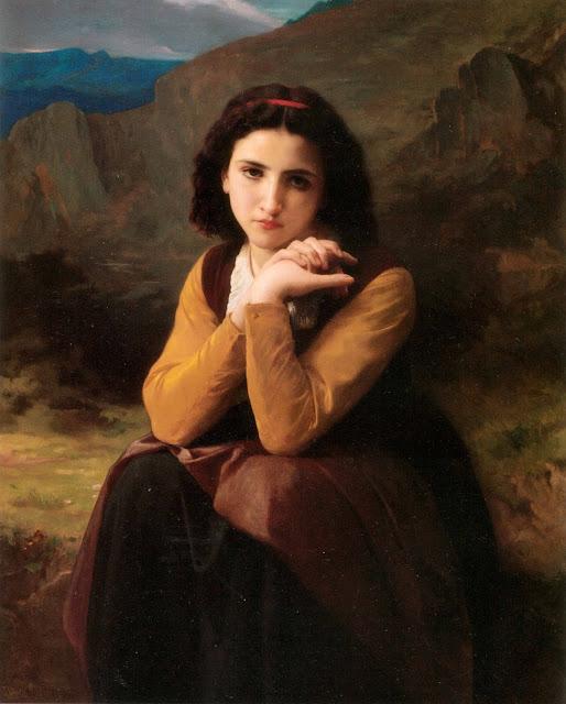 Адольф Вильям Бугро - Красавица (1869)
