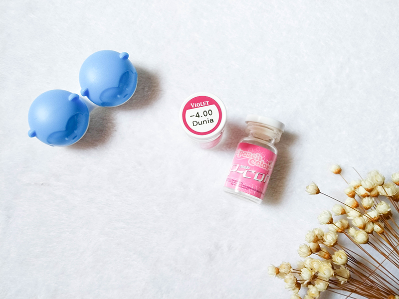 Review: Circle Lens - EOS Dunia Violet ♡ Pinky Paradise