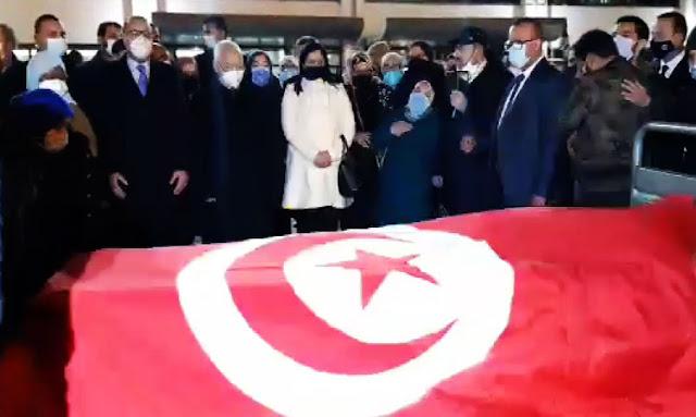 Tunisie : Vedio Des funérailles pour Meherzia Laabidi