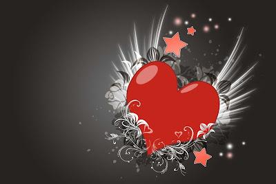 خلفيات قلوب رائعة جداً