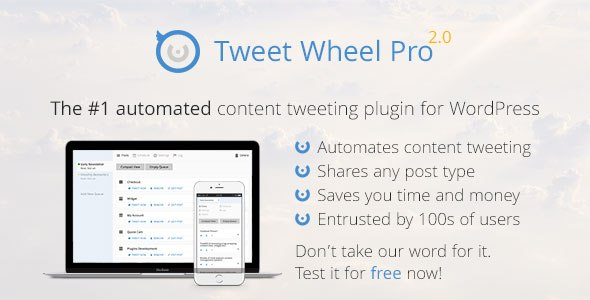 Tweet Wheel Pro 1.4.1 Crack Fully Automated Content Tweeting