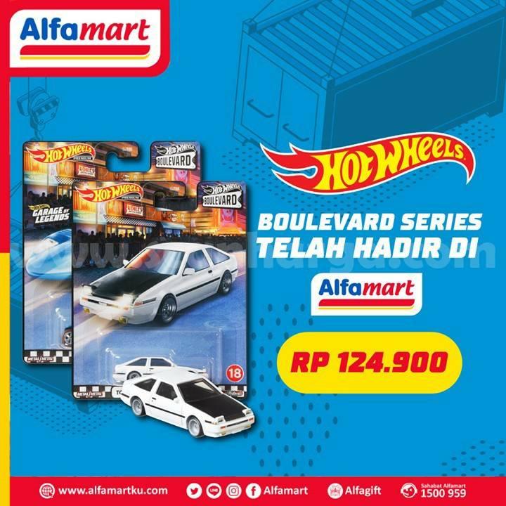 ALFAMART Promo Boulevard Series dari Seri Hot Wheels hanya Rp 124.900