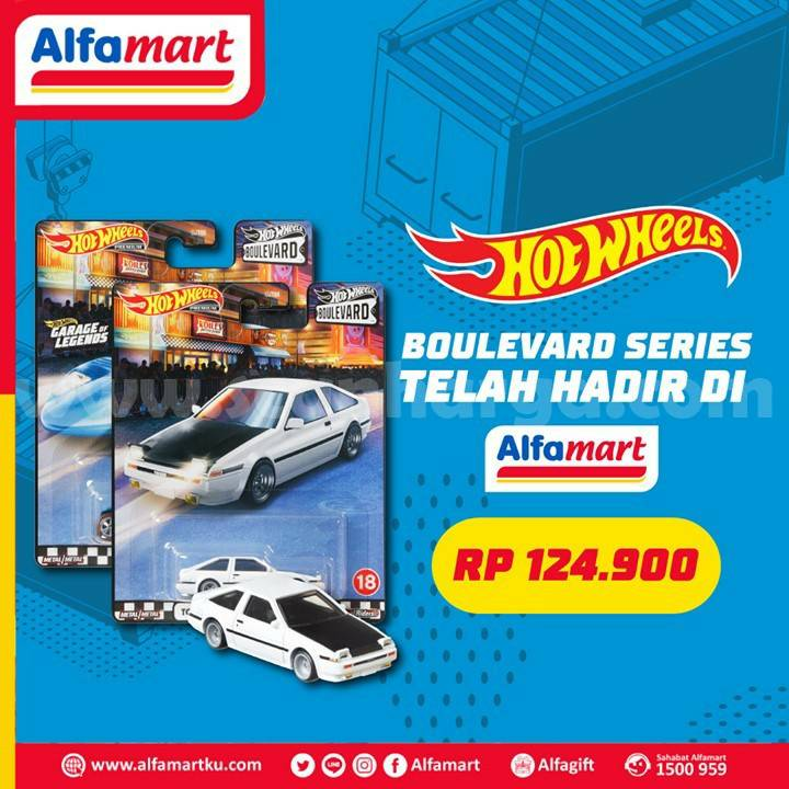 Alfamart Promo Boulevard Series Dari Seri Hot Wheels Hanya Rp 124 900 Scanharga