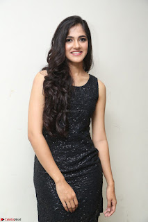 Simran Chowdary Model in Beautiful Black Dress at FBB Miss India 2017 finalists at Telangana auditions (30).JPG