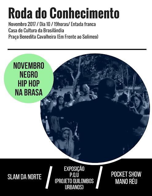 Artistas da Brasilândia Preparam Mês da Consciência Negra na Casa de Cultura da Brasilândia