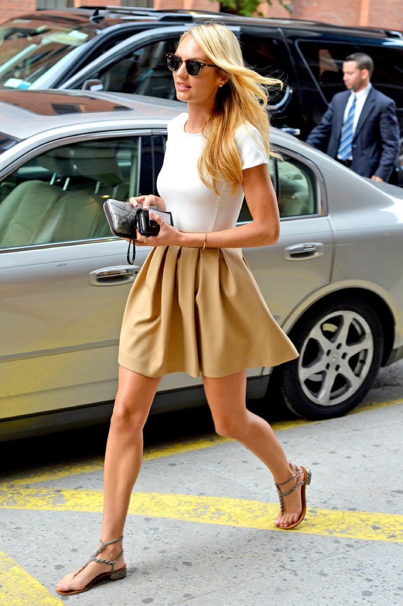 A Touch Of Tartan Copy That Look Candice Swanepoel