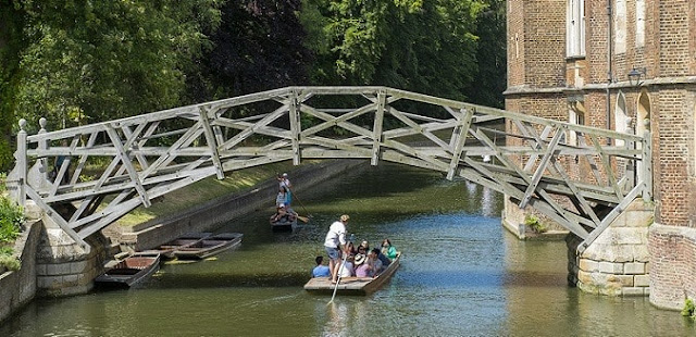 The Mathematical Bridge, Cambridge_engineersdaily.com