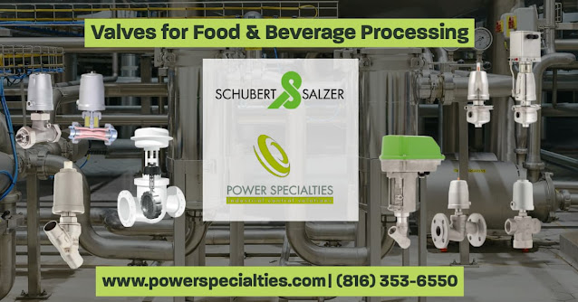 Valves for the Food and Beverage Industry