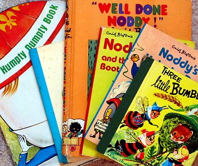Noddy, Humpty Dumpty, Enid Blyton old books