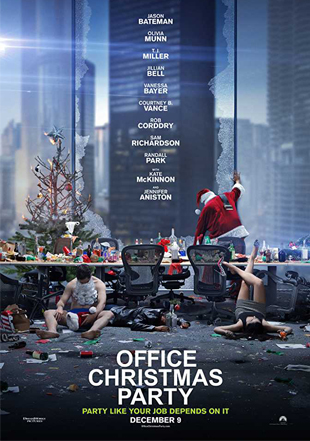 Office Christmas Party 2016 Full English Movie Download WEB-DL 720p
