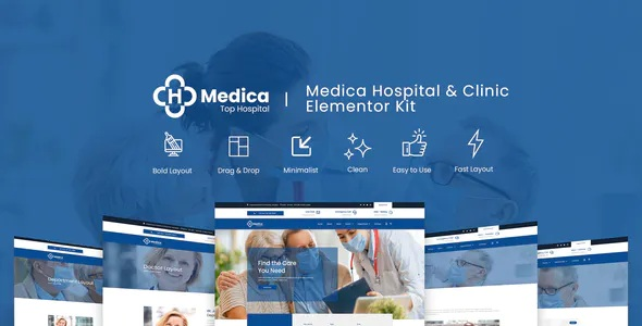 Best Hospital and Clinic Elementor Template Kit