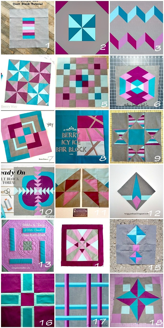 Cloud 9 Fabrics, New Block Blog Hop, new quilting blocks, modern quilt blocks, free quilt blocks, Puppilalla