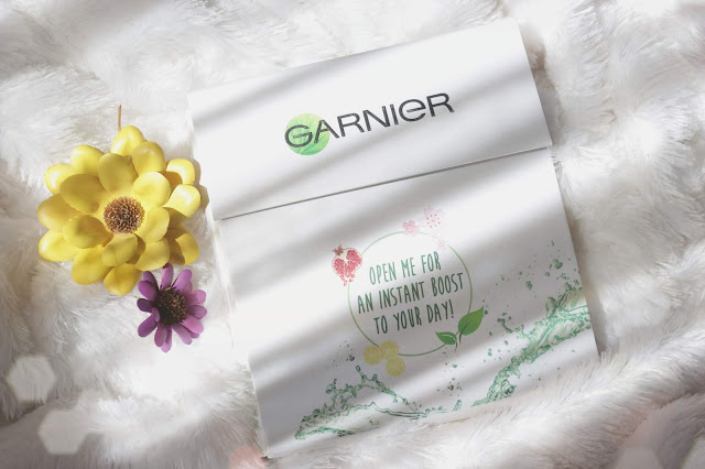 review garnier serum mask